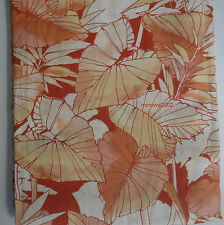 Tommy Bahama TROPICAL RED Coral 2) WINDOW PANELS CURTAIN 50x96 Rod Pocket CANOPY