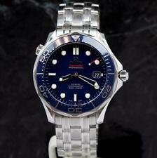 bnib OMEGA SEAMASTER Diver BLUE CERAMIC 300m 41mm~ 212.30.41.20.03.001 ~WARRANTY