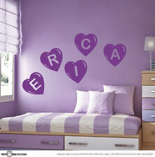 GIRLS LETTERS CUSTOM NAME Vinyl Wall Decal Stickers Each letter costs $3.50 - F1
