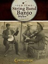 Old Time String Band Banjo Styles, Weidlich, Joseph, Good Book