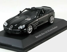 MINICHAMPS MERCEDES-BENZ SLR MCLAREN ROADSTER BLACK 1/43