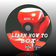 LEARN THE ART OF BOXING NEW EASY TO FOLLOW 2 DVD SET DEFENCE COUNTERS TRAINING