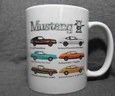 1978 Ford Mustang II Line Coffee Cup, Mug - New - 70's Classic - Sharp!