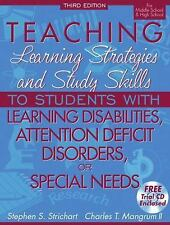 Teaching Learning Strategies and Study Skills To Students with Learning Disbilit