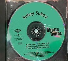 Ghetto Twiinz 2001 Sukey Sukey Rap A Lot PROMO CD SINGLE J Prince