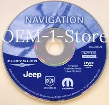 CHRYSLER DODGE JEEP MOPAR RB1 REC NAVIGATION MAP DISC CD DVD 2013 033AL UPDATE