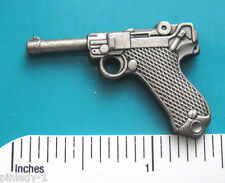 9mm luger  pistol - hat pin ,  lapel pin , tie tac , hatpin GIFT BOXED