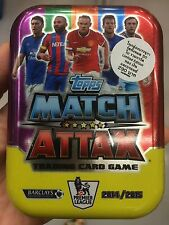 50 Cards Topps Match Attax Trading Card Game Premier League 2014/2015