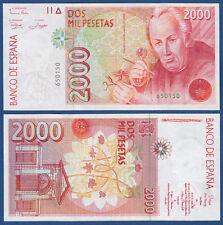 SPANIEN / SPAIN 2000 Pesetas 1992 UNC  P.162