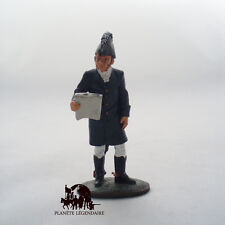 Figurine Collection Del Prado Commandant Duc de Wellington 1812 Waterloo Anglais