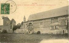 CHATEAU D'ASSIER ruines façade ouest aprés restauration timbrée 1913