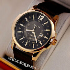 CURREN Brand Fashion Business Office Style Mens Morden Luxury Watches Gift Q4210