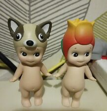 Sonny Kewpie Doll x 2 Tulip and Raccoon from Japan