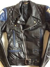 *LIMITED EDITION* VTG TT HONDA Leather CAFE RACER Biker MOTORCYCLE Jacket 36