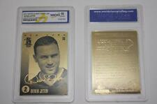 DEREK JETER Laser Line 2004 Gold Card Graded GEM MINT 10 Gold Signature Edition