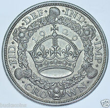 RARE 1929 WREATH CROWN BRITISH SILVER COIN FROM GEORGE V [ONLY 4994 STRUCK]