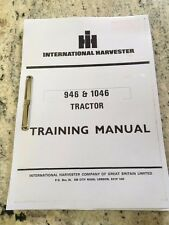 International Harvester 946 & 1046  Tractor Training Manual