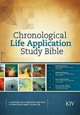 Chronological Life Application Study Bible KJV (2013, Hardcover)