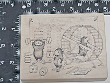 Stampa Rosa #253 House Mouse Mousercize- Maxwell, Mudpie, Amanda 1998 Exercise