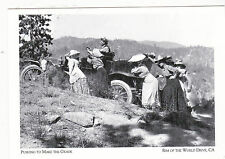 "*Postcard-""Pushing Buggy to Make the Grade""- California/Rim of World Dr. (#93)"