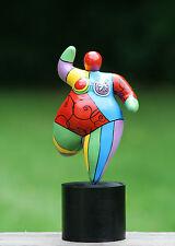 Hommage an Niki de Saint Phalle - Figur Skulptur Dolly Dicke Frau Nana large TOP