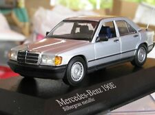 Mercedes-Benz 190E, 1984, silver/grey, LIMITED EDITION, MINICHAMPS 1:43 model