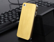 Titanium Alloy Metal Steel Hard Skin Back Case Cover For Apple iPhone 4S 4 3G 4G