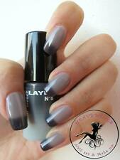 THERMO COLOR CHANGING EFFECT NAIL POLISH by LAYLA - BLACK TO GREY 8608