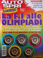 Autosprint n°17 1996 Superturismo a Magione Doppietta Ferrari  [P14]