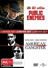 Public Enemies / American Gangster DVD NEW