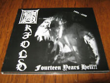 """SKJOLD """"Fourteen Years of Hell"""" CD  denial of god blodarv"""