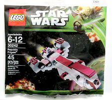 30242 REPUBLIC FRIGATE promo star wars lego poly bag legos set baggie