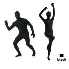 Full Body Bright Lycra Spandex Zentai Suit Costume Party Skin Tight Select color