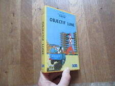 CASSETTE VIDEO VHS DESSIN ANIME TINTIN objectif lune herge