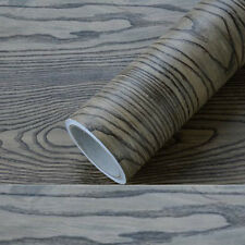 Furniture sandalwood Black Self-adhesive Refurbished Waterproof Thick Wallpaper
