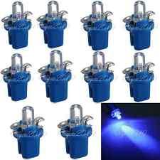 10PCS LAMPADA LAMPADINA AUTO T5 B8-5D LED DC 12V LUCE BLU NUOVO