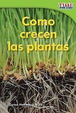 Como Crecen las Plantas by Dona Herweck Rice (Paperback / softback, 2011)