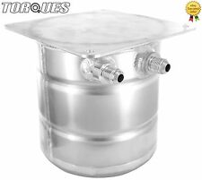 AN-6 (-6AN)/ AN-8 (-8AN) JIC 1.5 Litre Aluminium Top Mounted Fuel Swirl Pot Tank