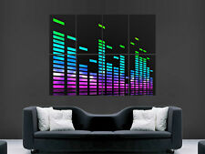GRAPHIC EQUILISER MUSIC  ART  HUGE WALL GIANT POSTER
