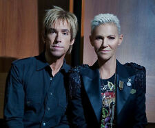 Marie Fredriksson and Per Gessle UNSIGNED photo - E1060 - Roxette