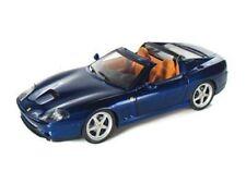 Mattel Hot Wheels Ferrari Superamerica 1:18 Scale Diecast Car Model Blue NEW