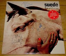 "SUEDE WILD ONES FULLY SIGNED 12"" SLEEVE WITH PHOTO INSERT UACC REGISTERED DEALER"
