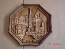 Paris France Collectors Wall Plaque