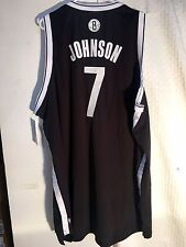 Adidas Swingman NBA Jersey BROOKLYN Nets Joe Johnson Black sz 3X