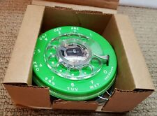 NOS 1970's Stromberg Carlson Lime Green Telephone Rotary Dial Dialer Wall Desk