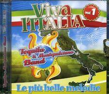 Tequila E Montepulciano Band - Viva L'italia Vol.1 CD MUSICOMANIA PRODUZIONI