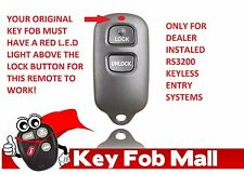 NEW Keyless Entry Key Fob Remote For a 2005 Toyota Corolla Free Program Inst.
