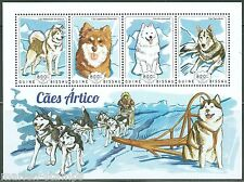 GUINEA BISSAU 2014 SLED  DOGS SHEET MINT NH