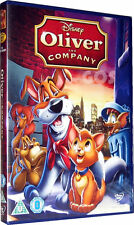 Oliver And Company Walt Disney Anniversary Film Childrens Movie DVD New Sealed