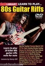LICK LIBRARY Learn to Play 80s EIGHTIES RIFFS ZZ TOP U2 DIRE STRAITS Guitar DVD